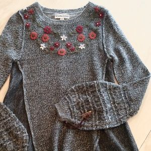 Sweaters - NWT Wool blend Bell Sleeve soft tunic sweater